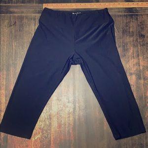 Bally Capri Workout Leggings Sz L